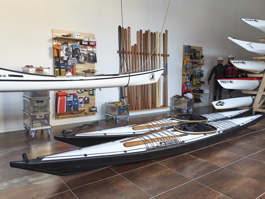 Nautiraid folding kayaks - TUILIK SEA KAYAK